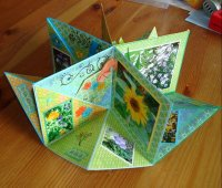 Folded minibook