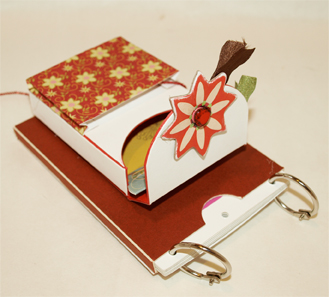 Sizzix notebook and minibook single