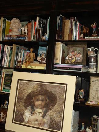 Kathy's bookshelf