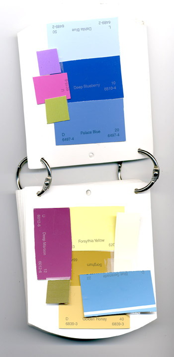 Color reference minibook
